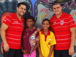 Dragons visit Yarrabah