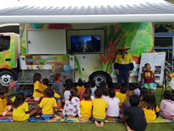 Regional Council's Water Engagement and Training van visit